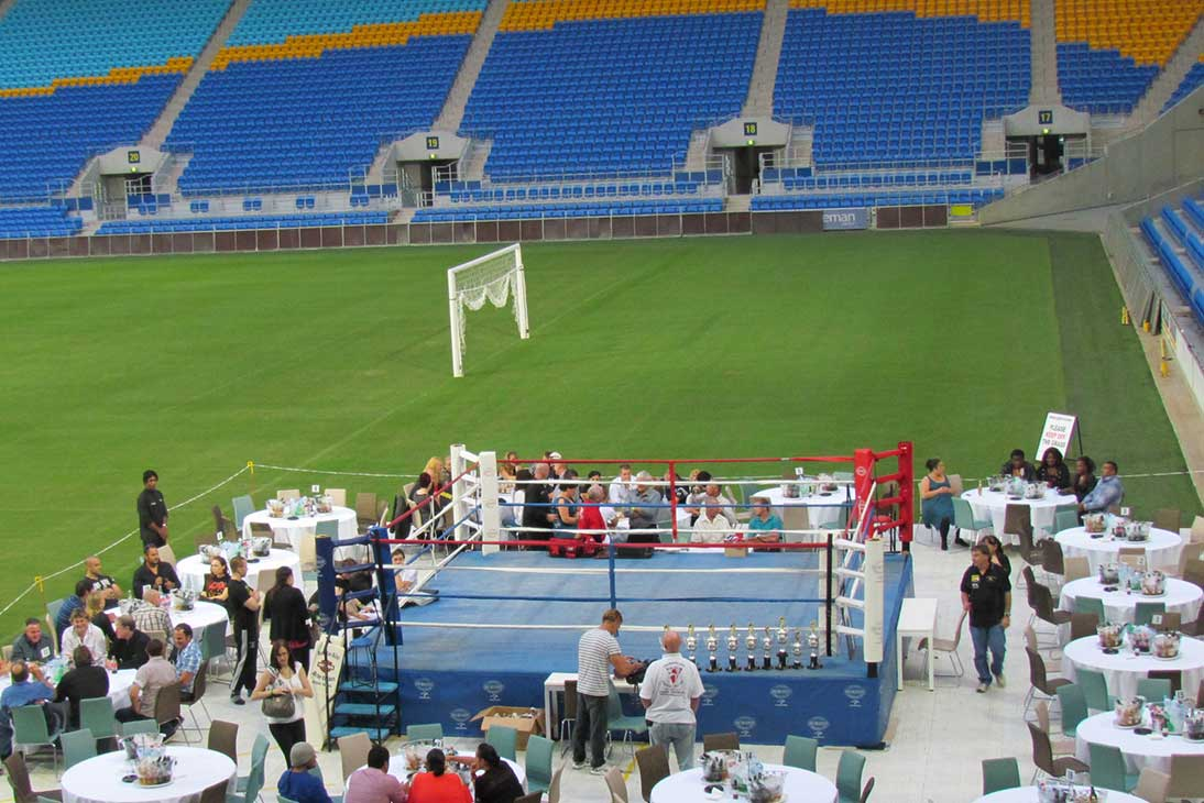 Cbus Stadium Hire Boxing Match